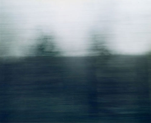 Ori Gersht, White Noise No 4